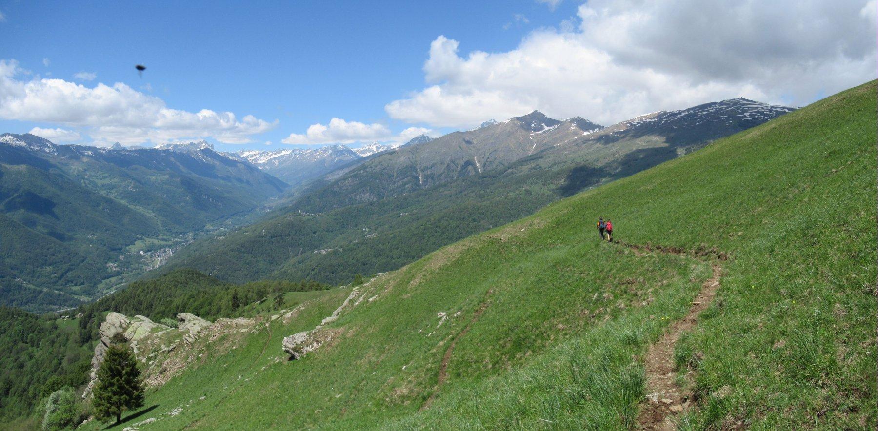 Panorama sulla Val Varaita