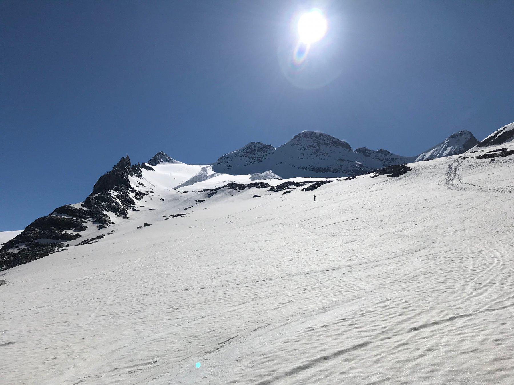 bellissimo l'Homattu Gletscher