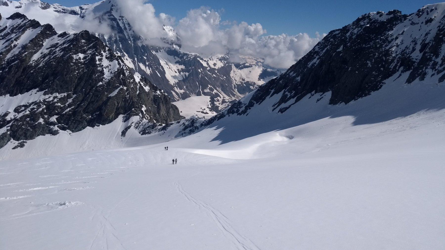 Il ghiacciaio di punta Maria