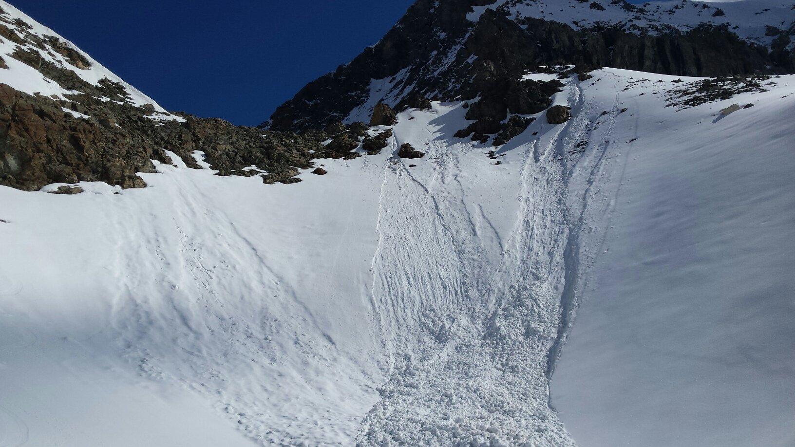 colle Bella Tsa versante Valtournenche