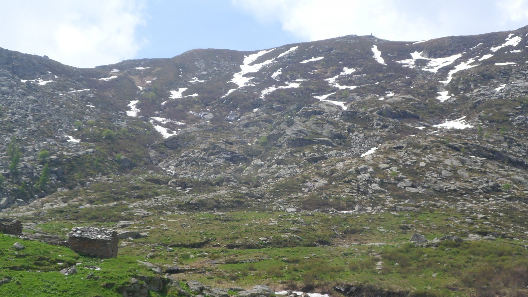 Cima del Vallone da 1750 m di quota