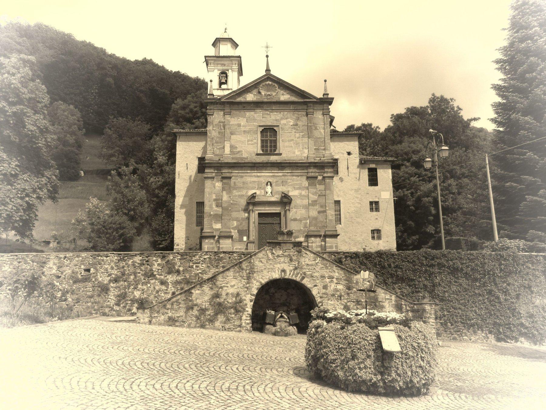 Verdobbio Chiesa di Santa Maria delle Grazie
