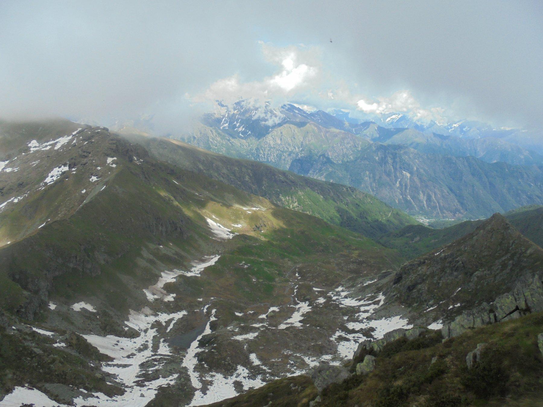 Verso il Ciavanis e la Valle Orco