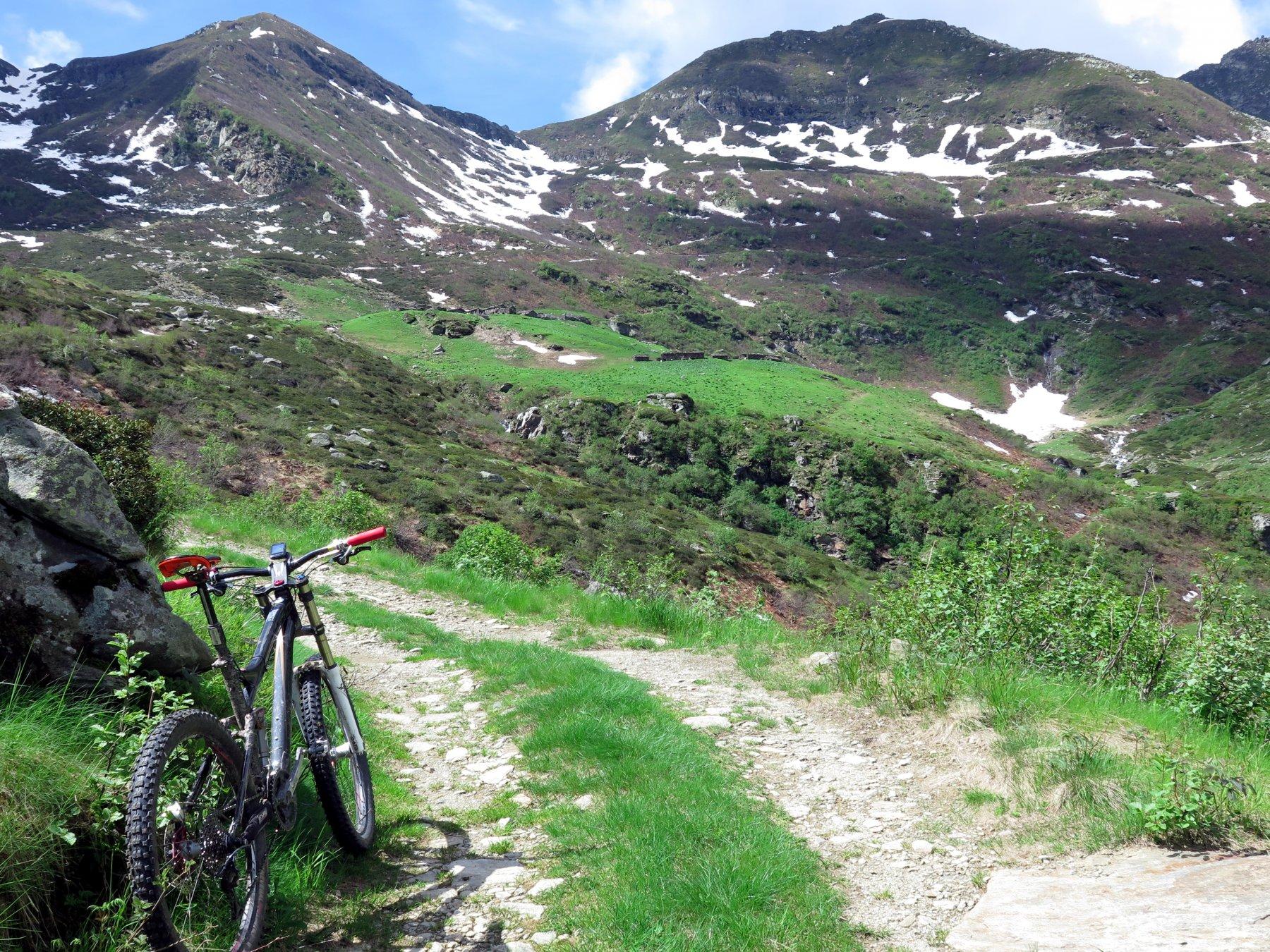 In vista dell'Alpe Sella