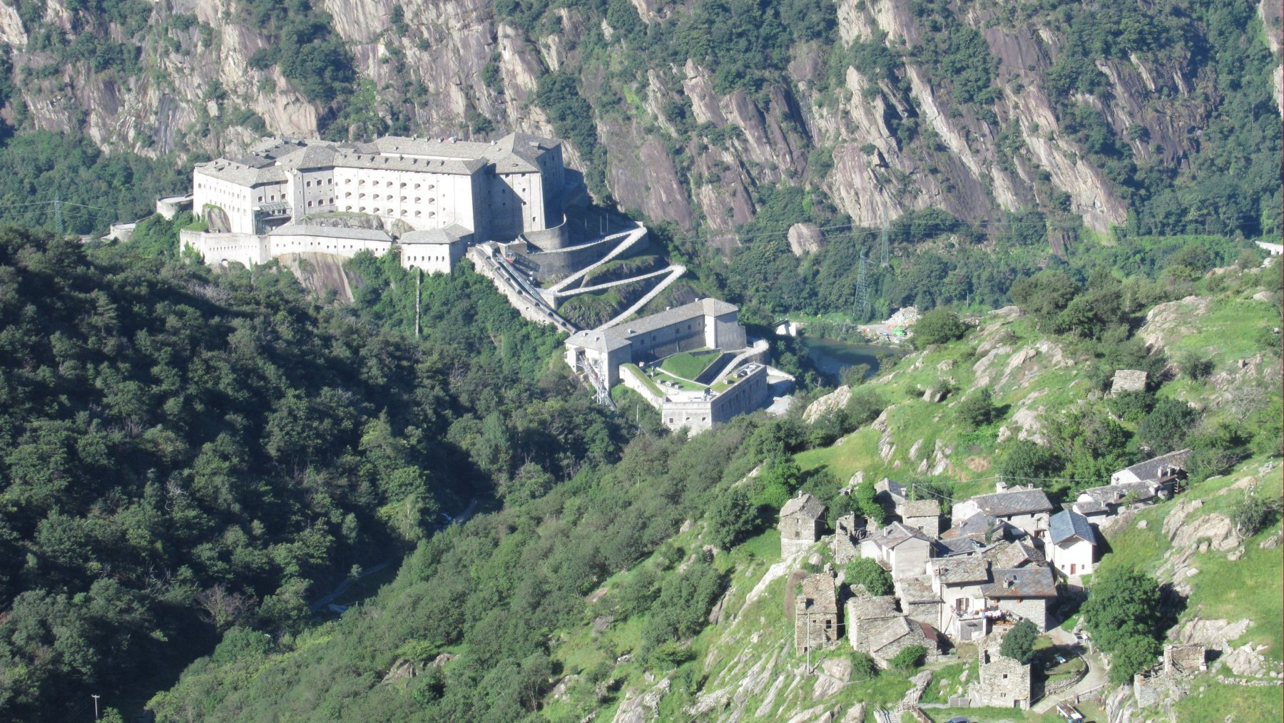 Forte di Bard e Albard de Bard