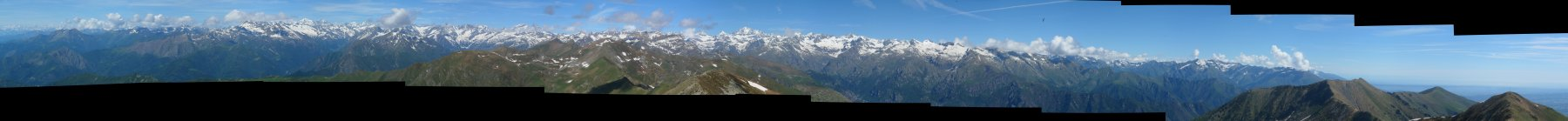 Panorama dalla Vaccarezza