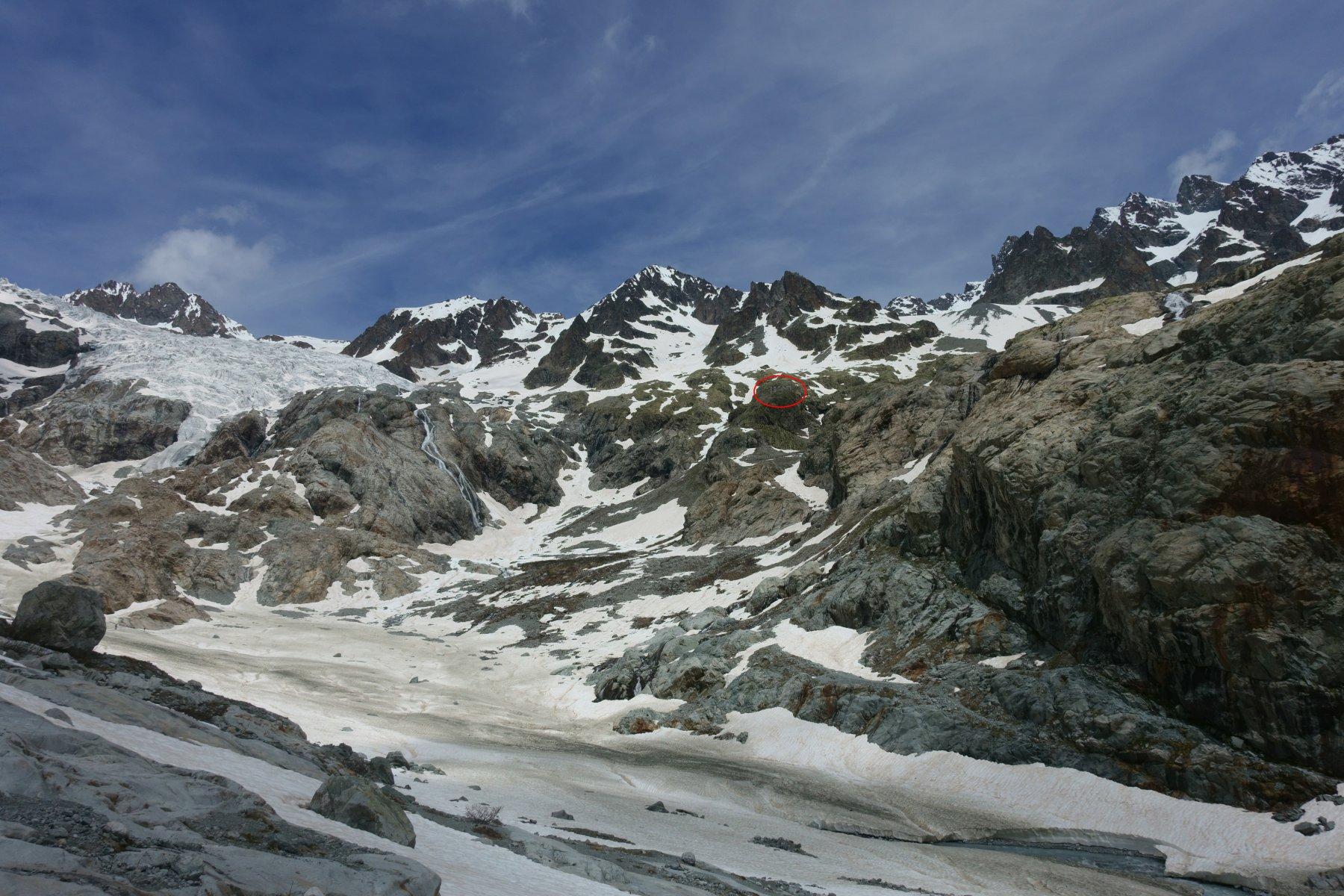 Sotto al refuge Glacier Blanc