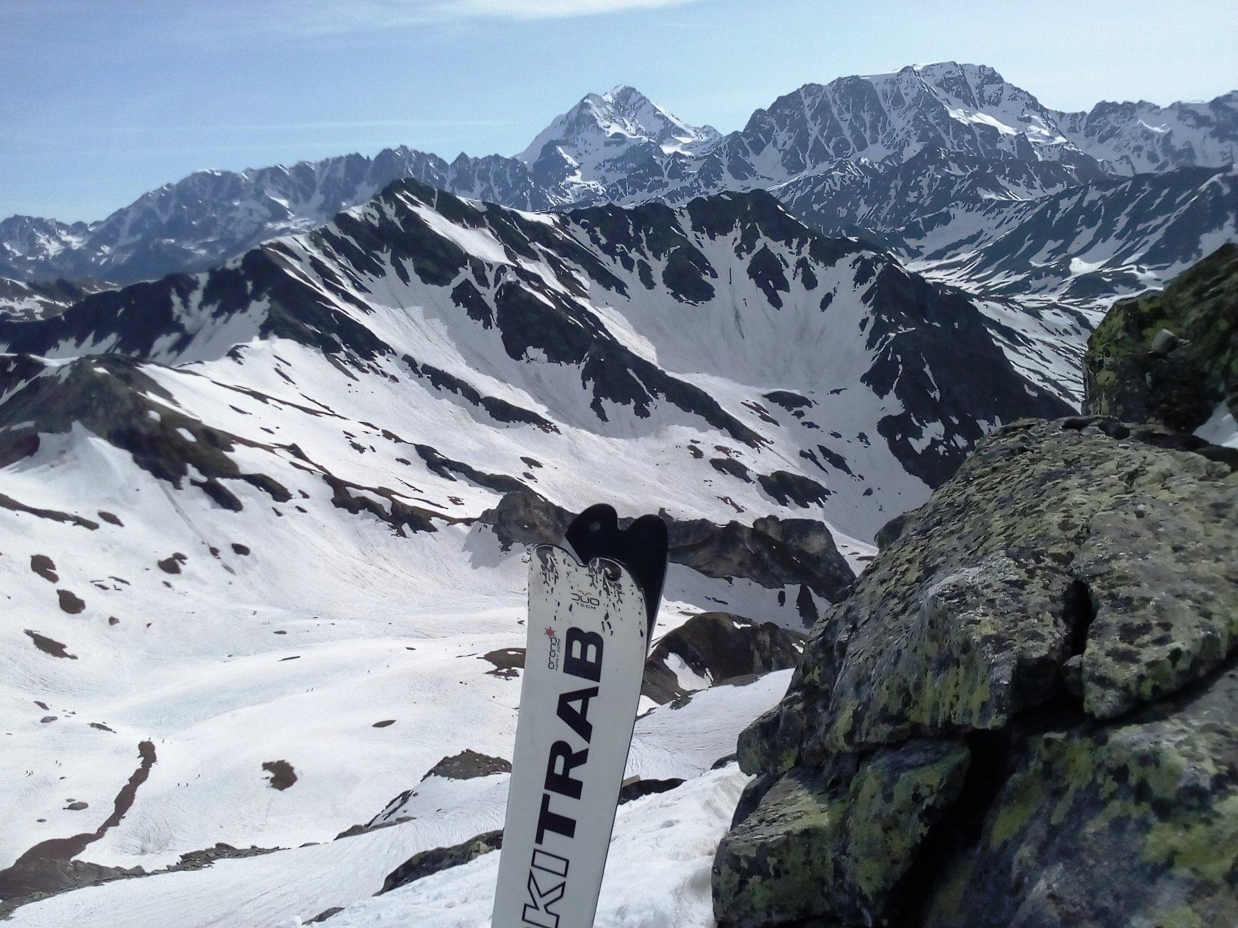 lo sci è tornato in alto Il Velan e il GR.Combin