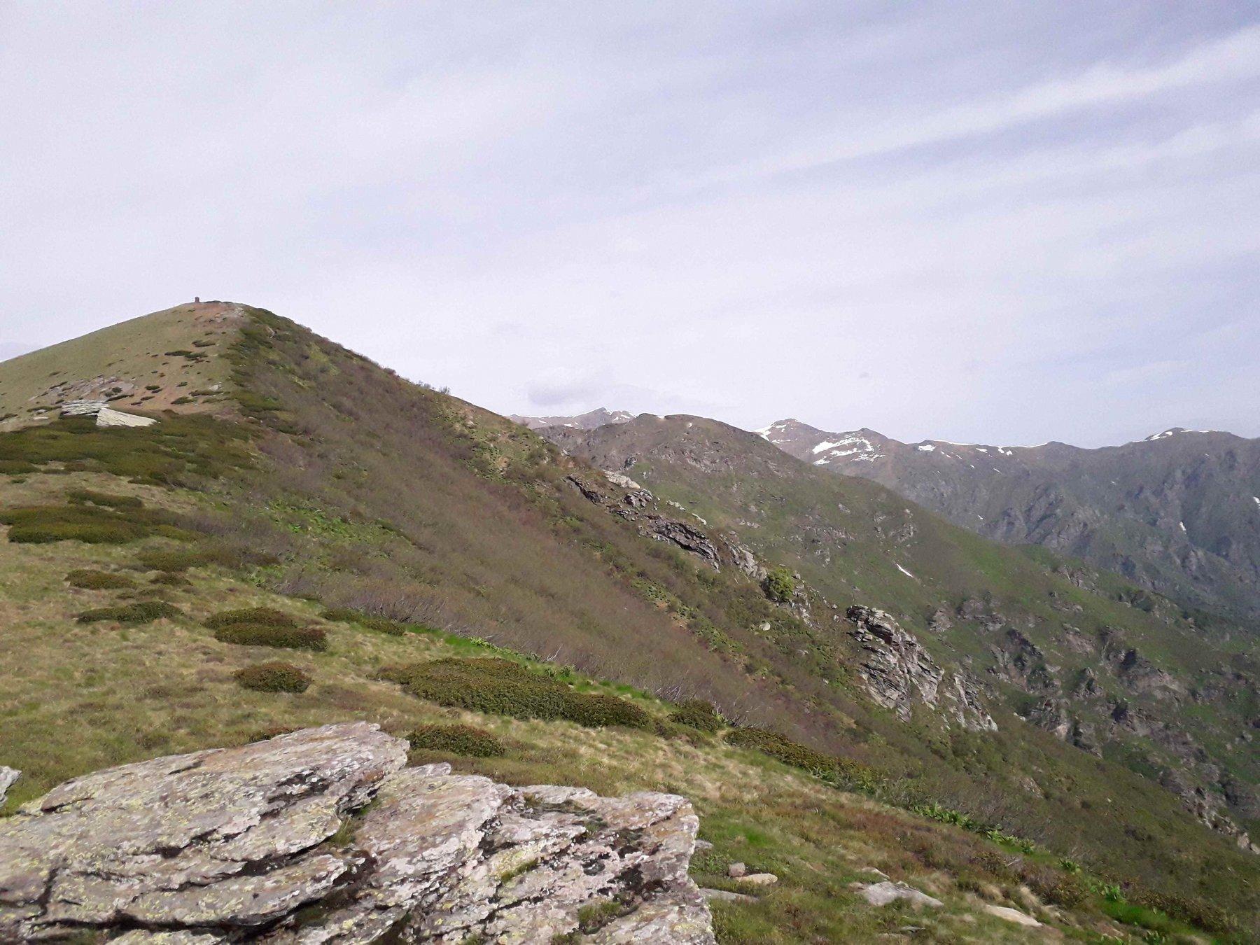 verso la punta del monte vandalino