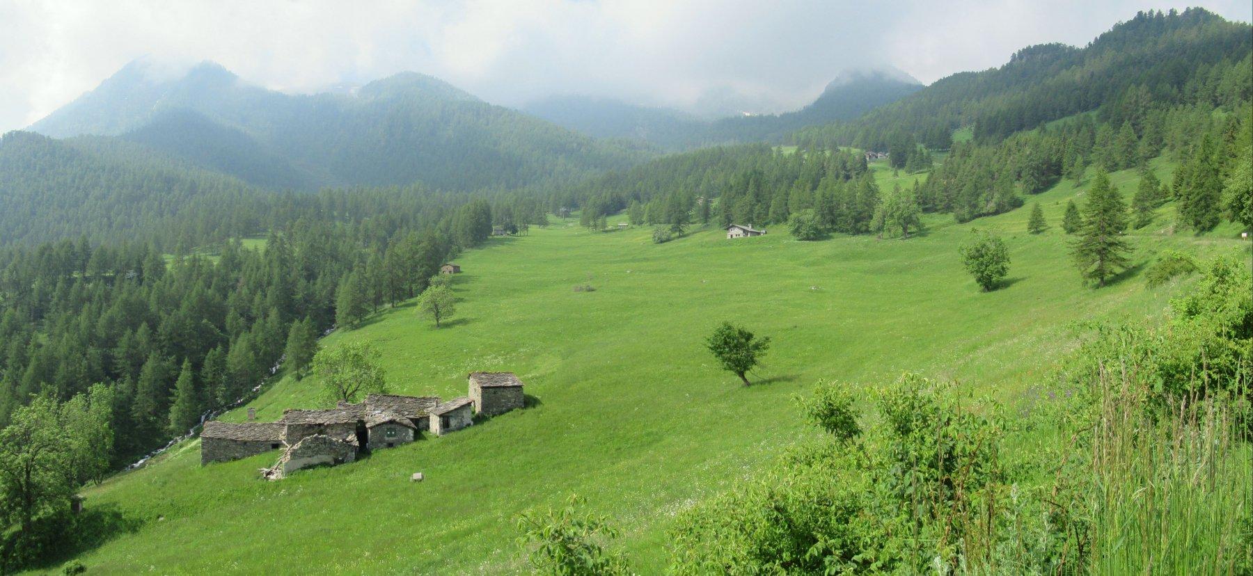IL bellissimo vallone di Sant'Anna