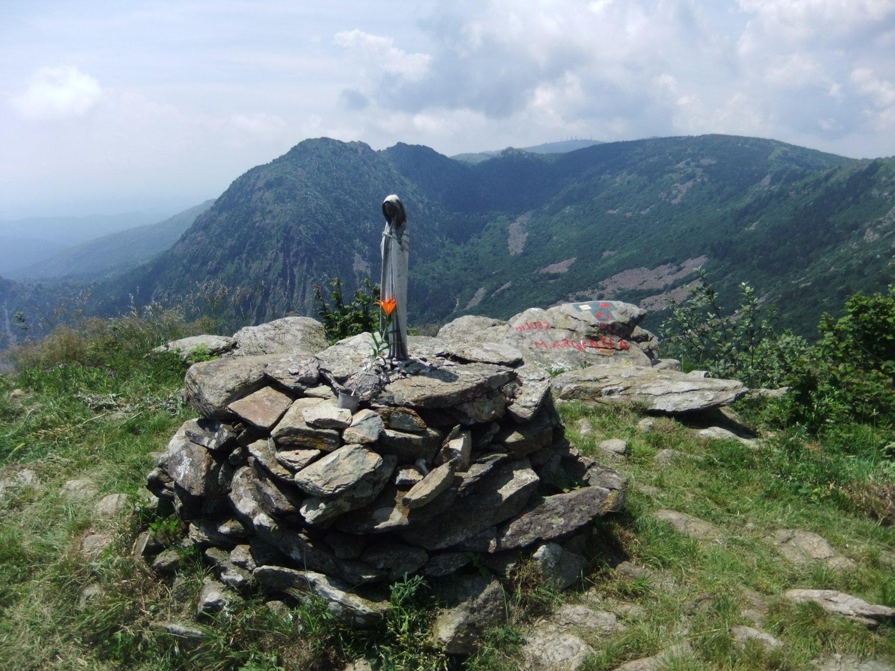 In vetta al Monte Argentea