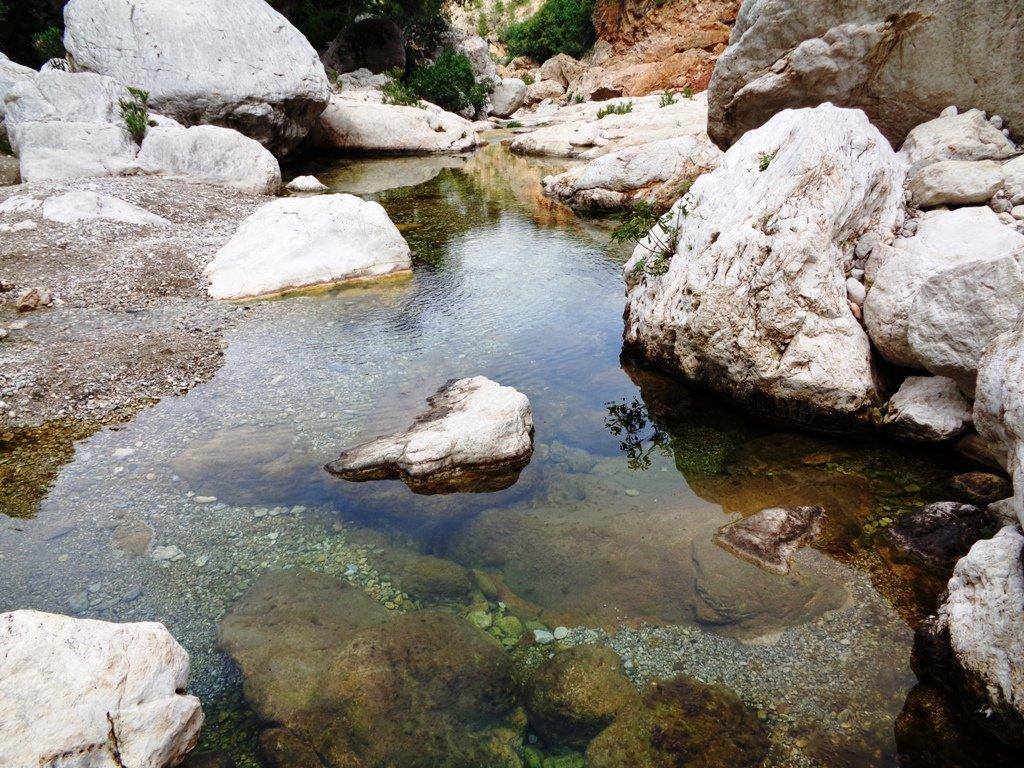 acque del Rio Flumendosa