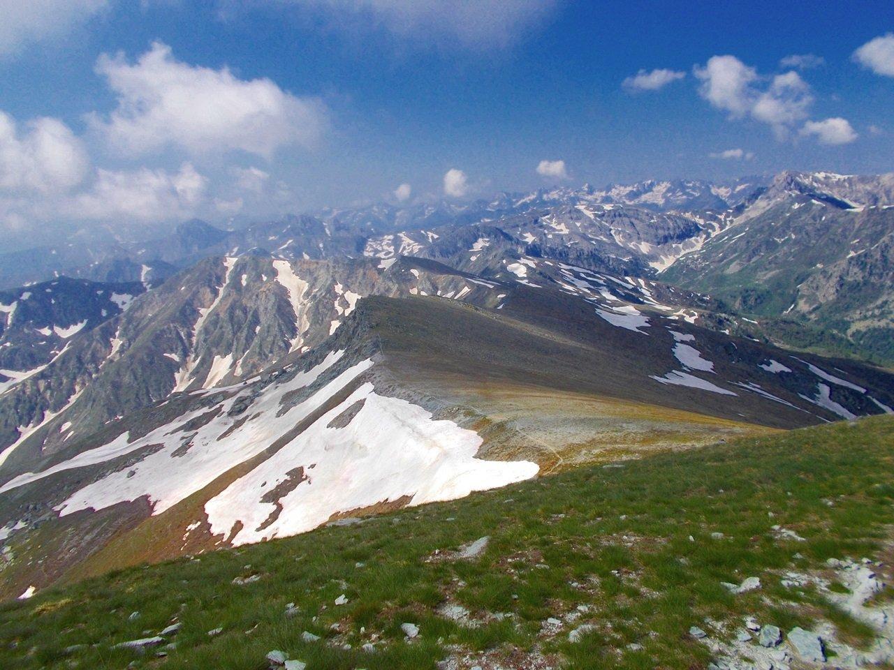 la cresta Sibolet-Tempesta