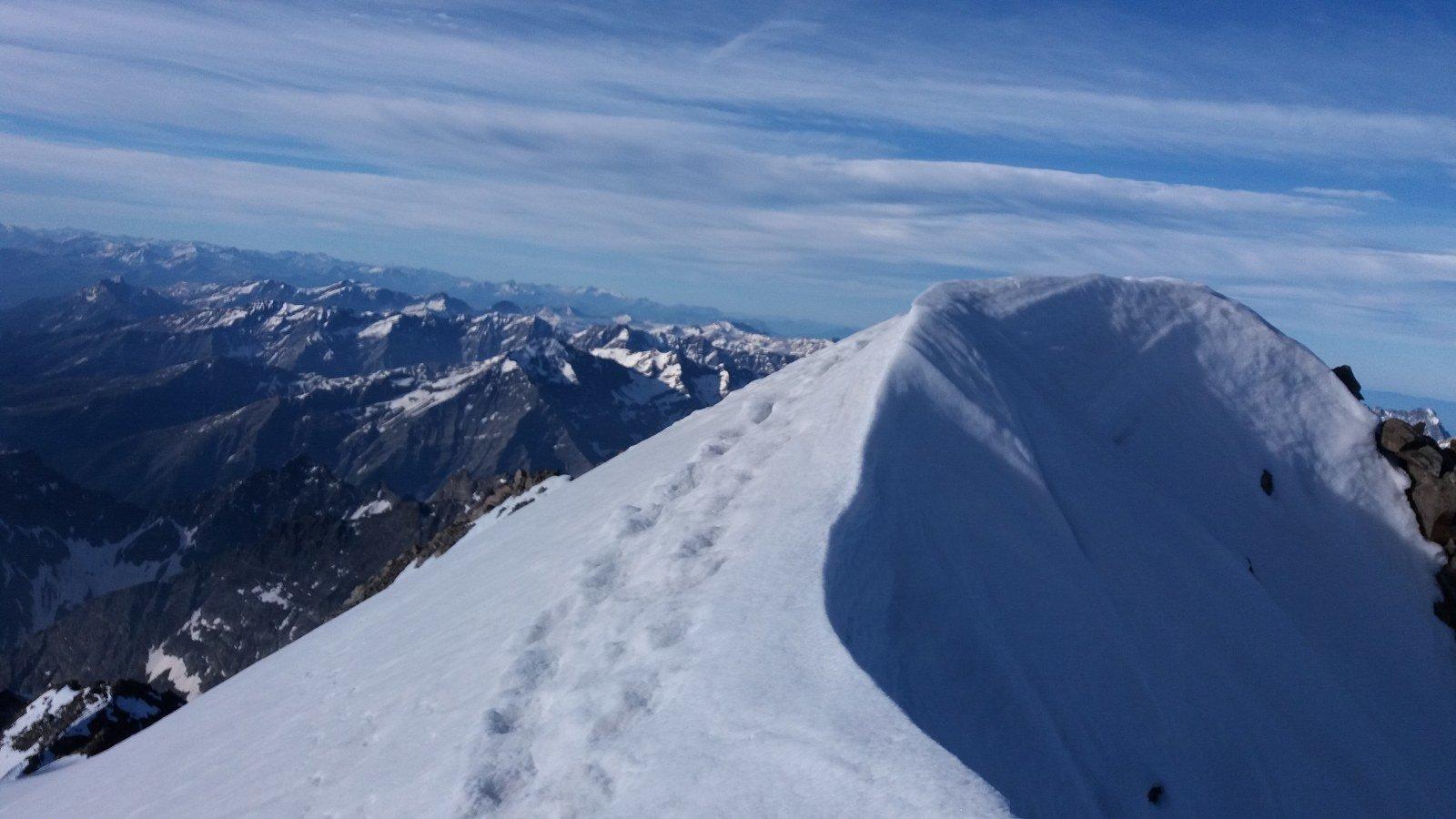 La cima del Pelvoux