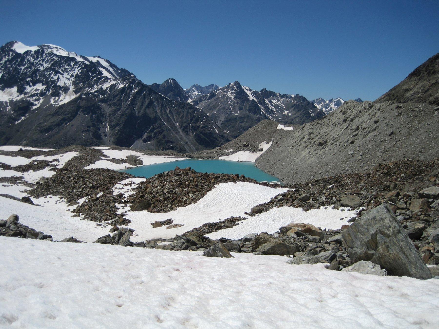 Ultime nevi presso il Fellsee