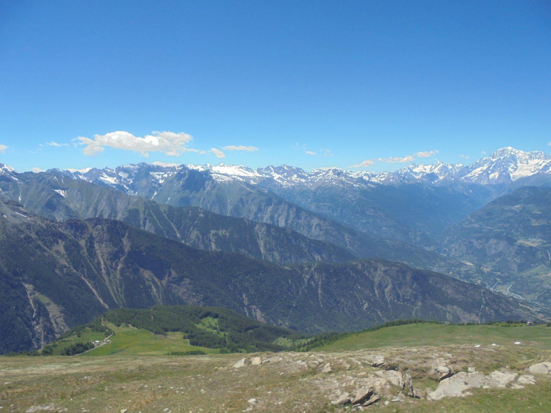 Valle Centrale, Rutor e Monte Bianco