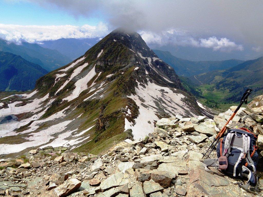 Monte Bieteron dalla cima
