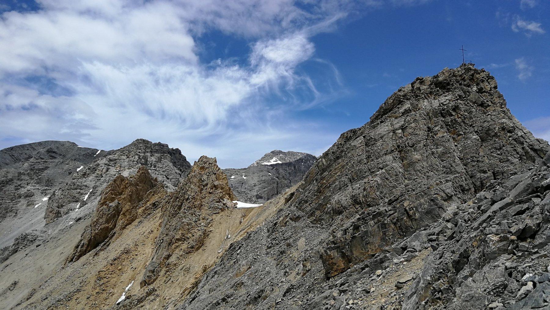 Tratto di sentiero sul versante della Valle Stretta