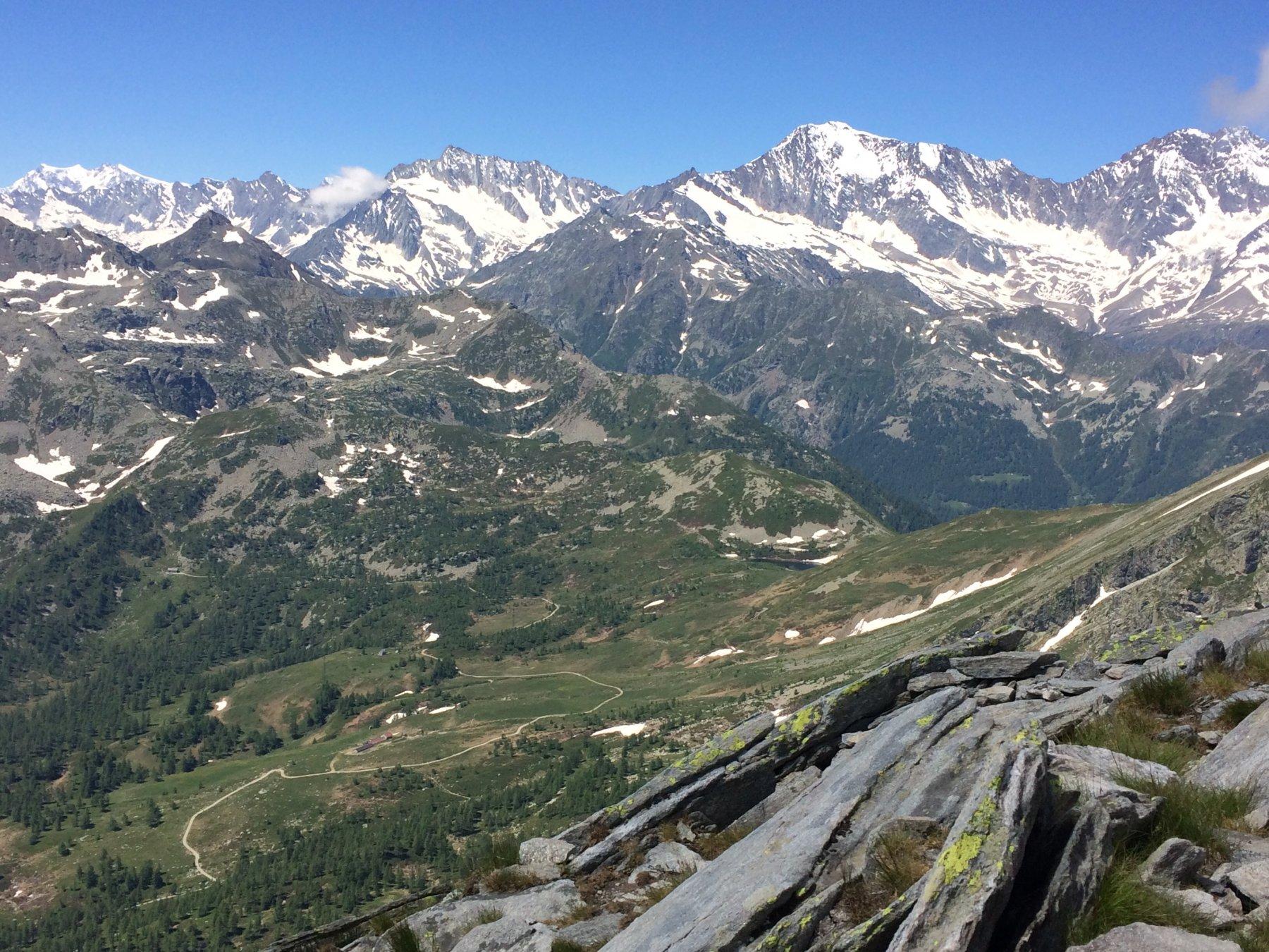 dal Monte Rosa al Fletschorn