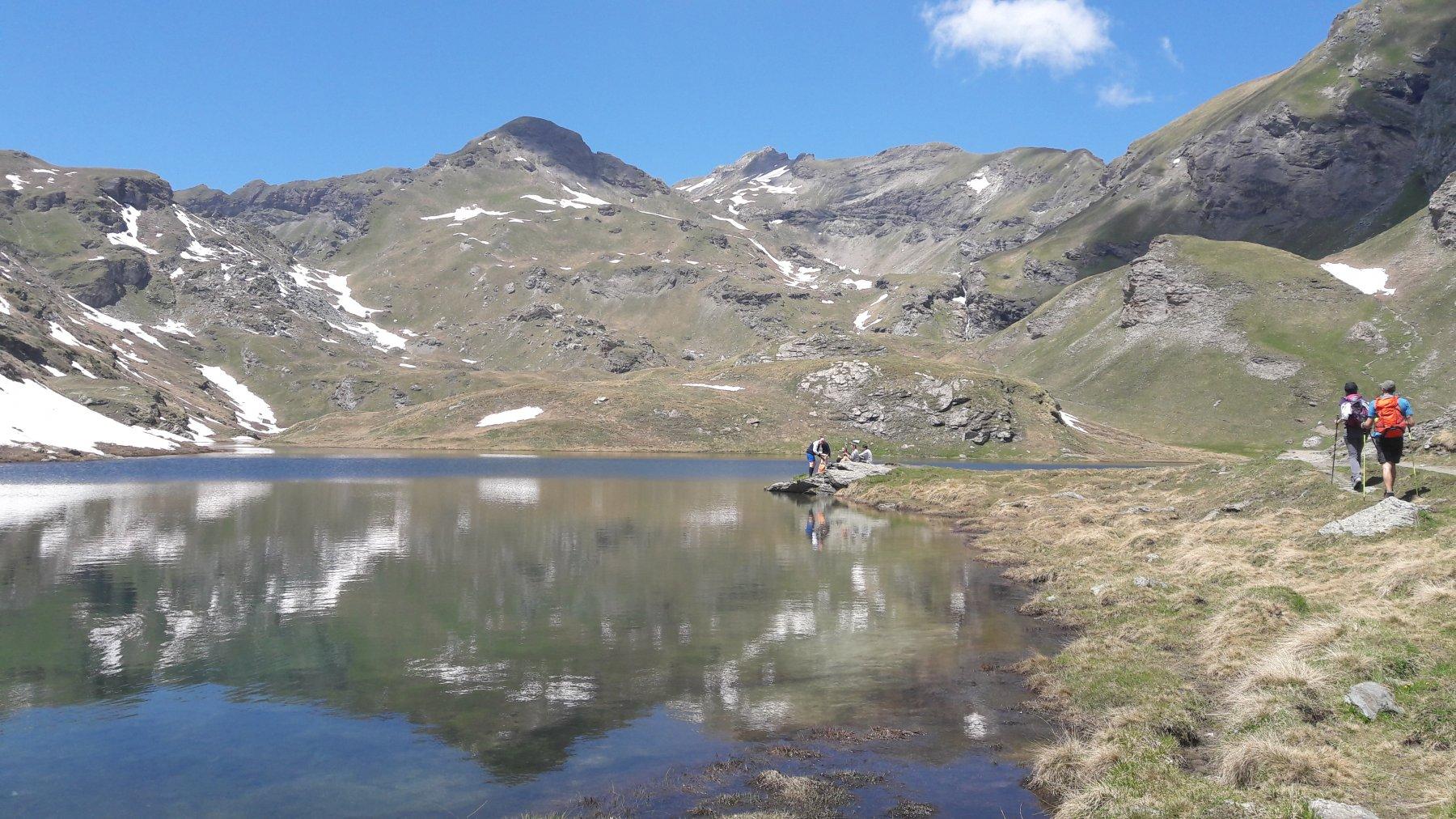 Lago della Battaglia, il primo dei Palasina