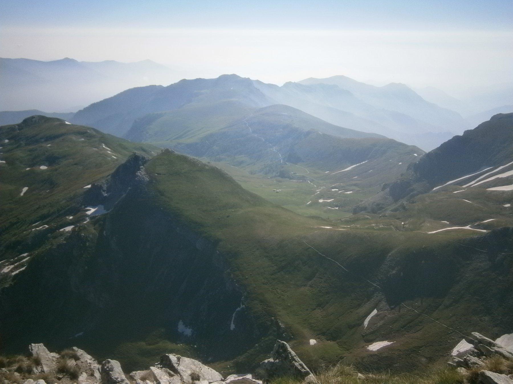 Rocca Comunetta dall'alto