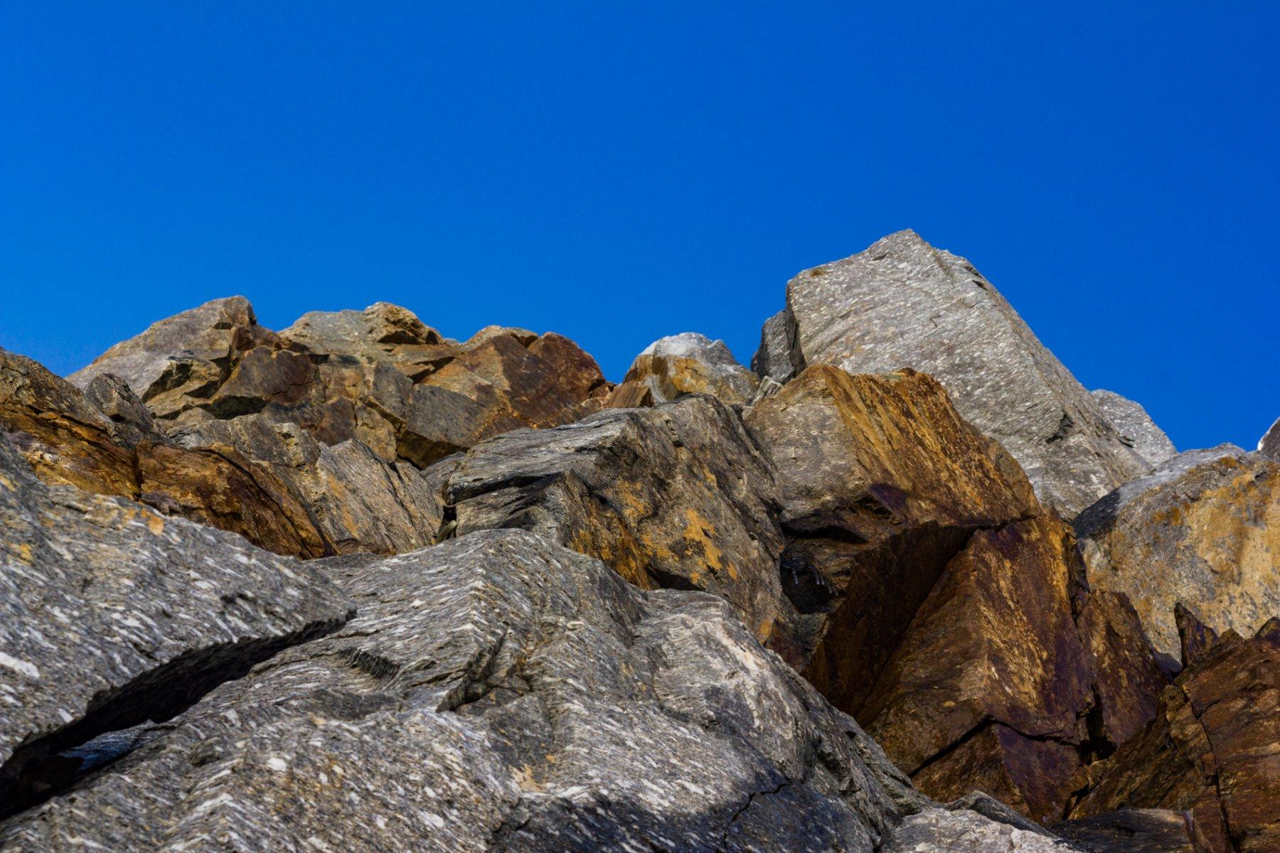 La fascia rocciosa...attenzione ai residui di verglas