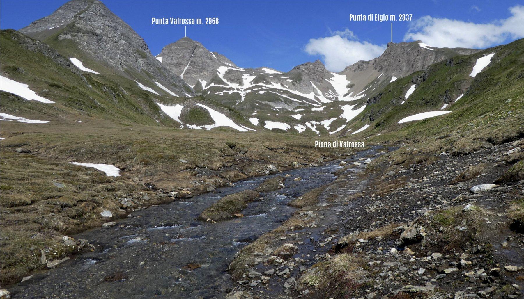 Valrossa (Punta) o Rotentalhorn da Riale per il Rifugio Maria Luisa 2018-06-28