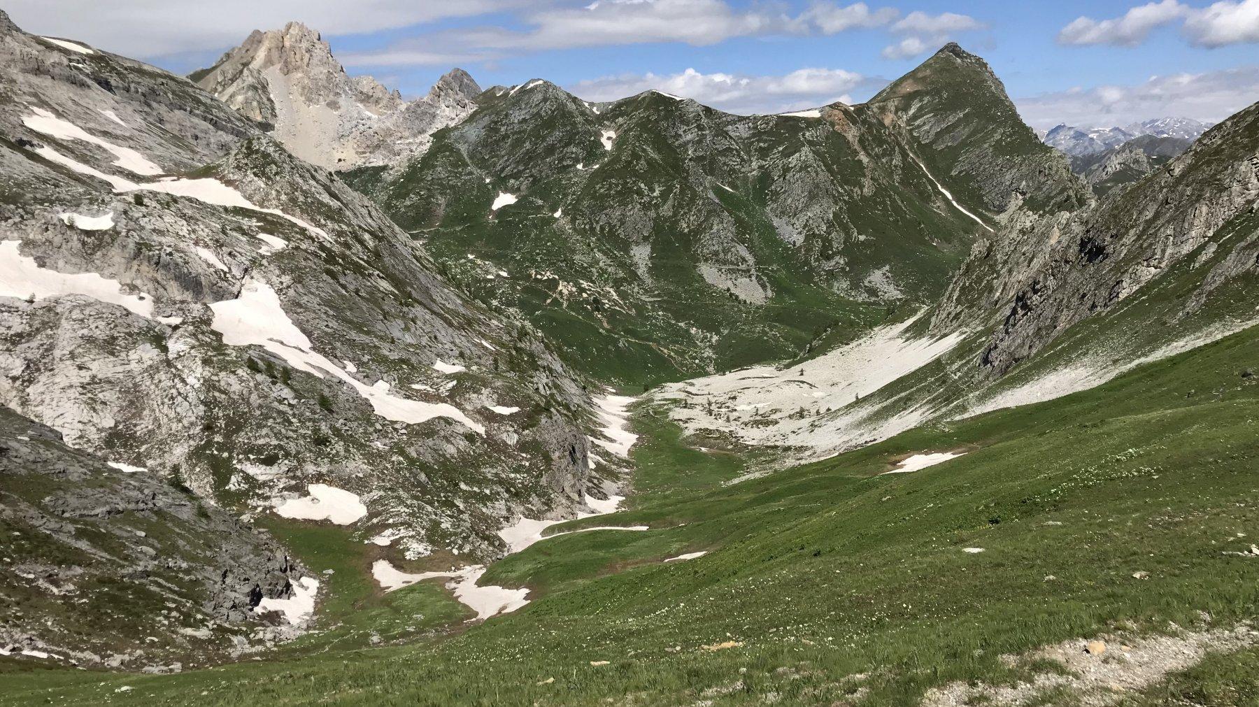 Vallone di salita al monte Test ( sci alp )