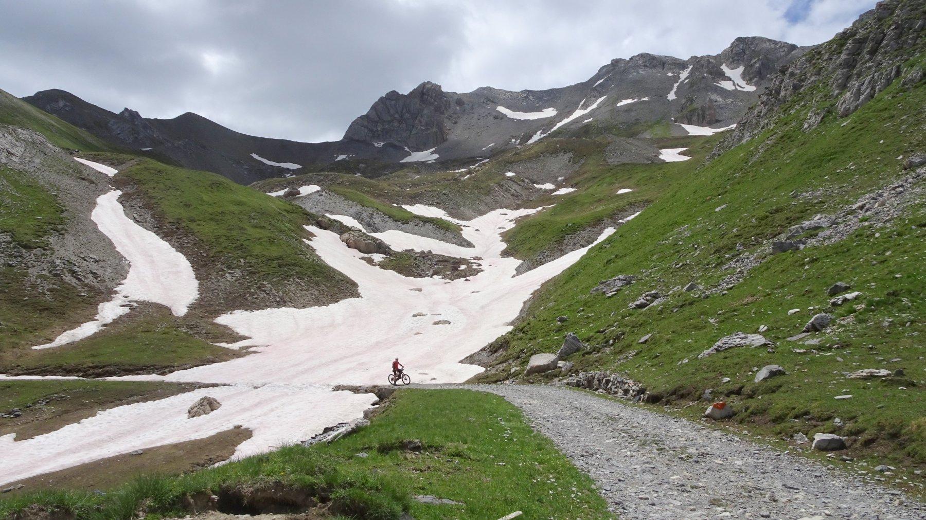 Altopiano Gardetta sotto Giordano (sci alp )