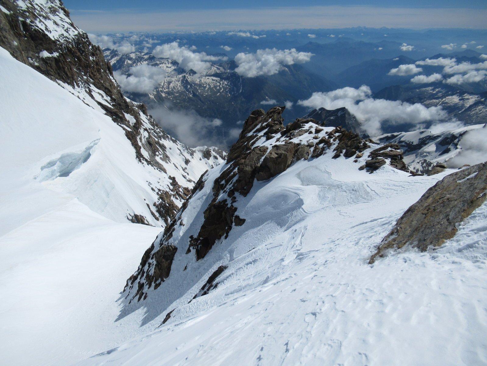 Uno sguardo verso la Val Sesia