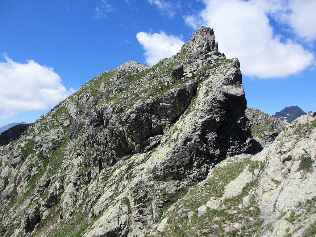 Ultimo tratto per cima Sabbione