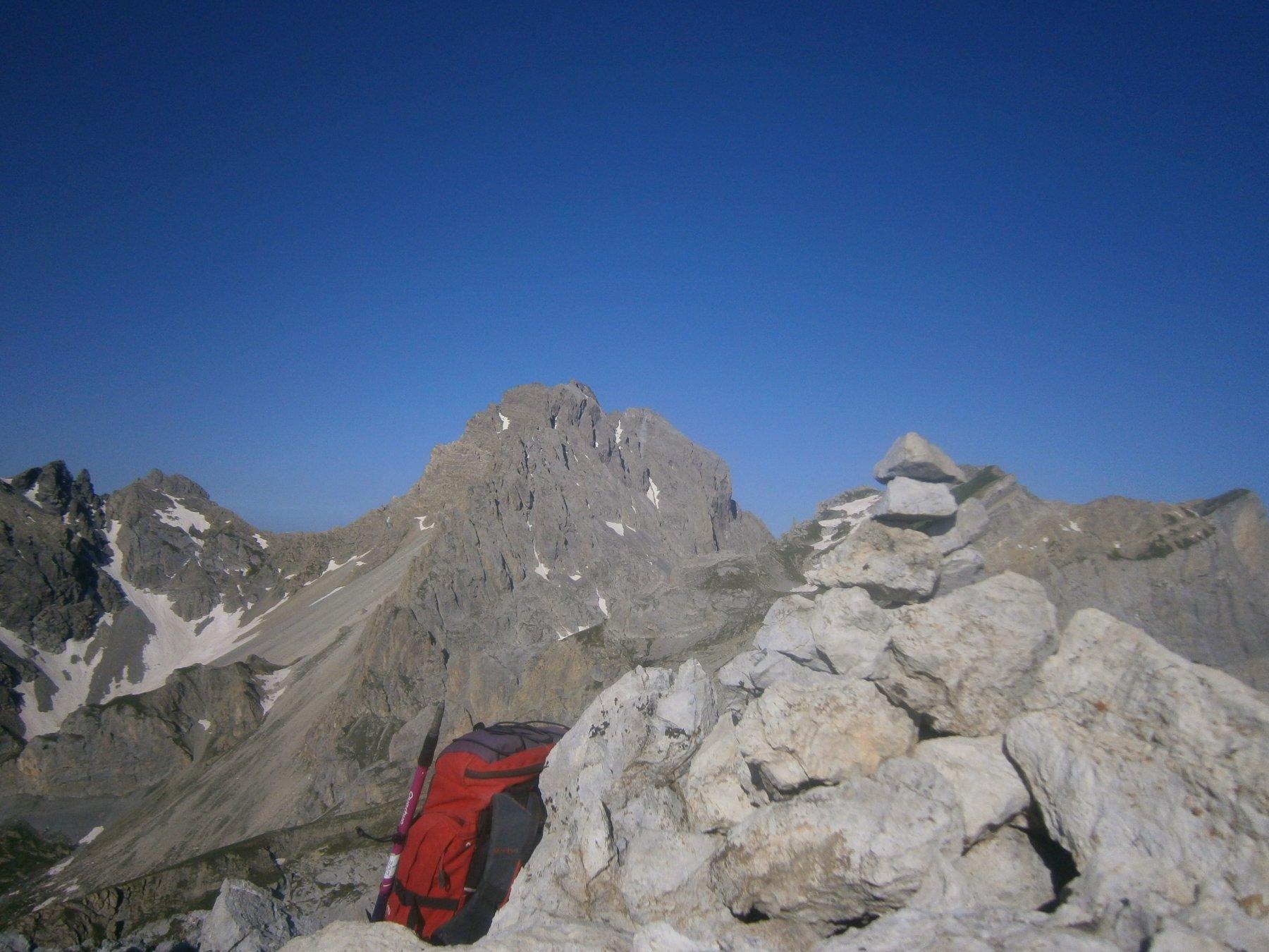 Oronaye dalla cima Sud
