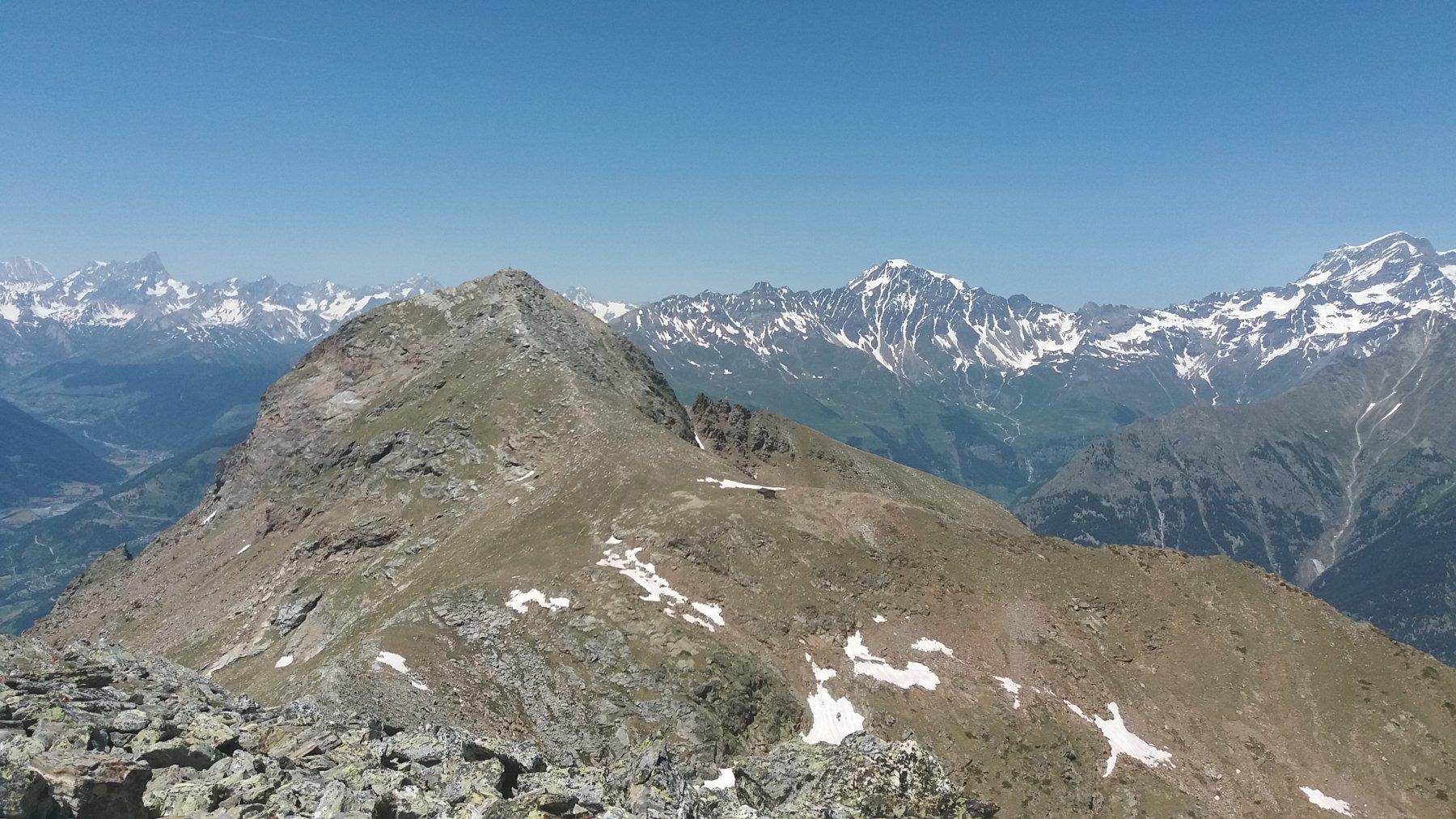 La Becca di Viou vista dal Mont Mary