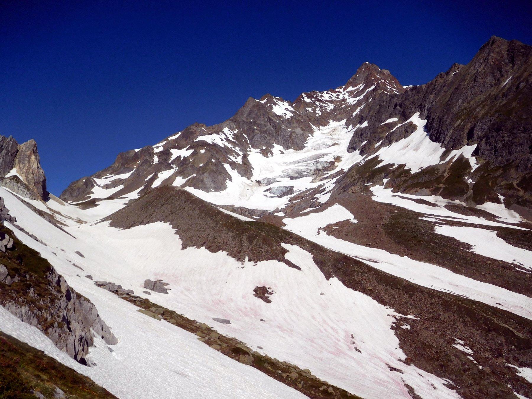 Aiguille des Glaciers versante sud est