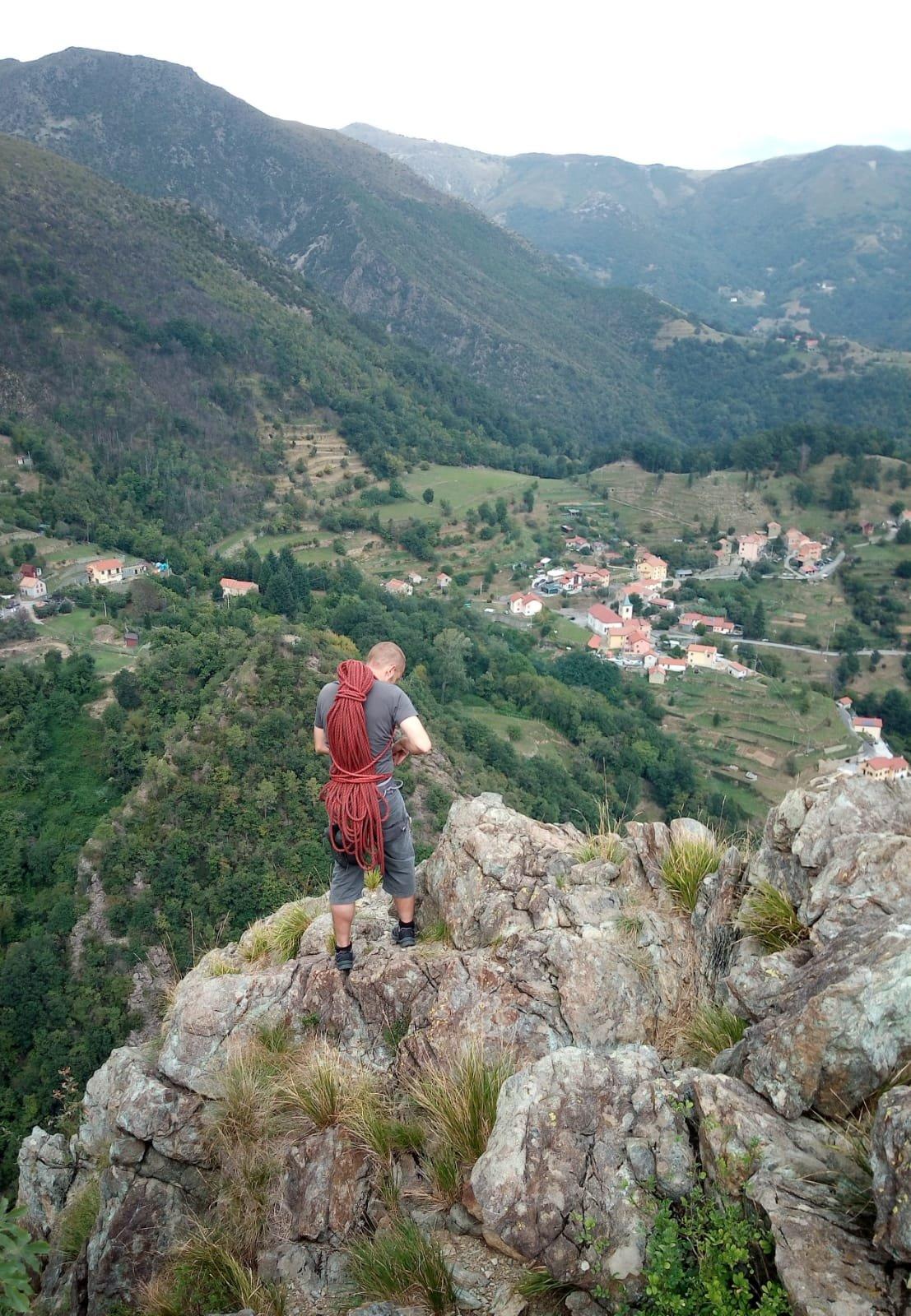 Vista sulla Valle dalla cima