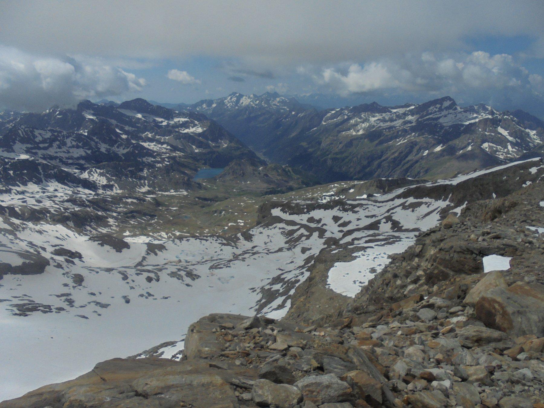 Panorama dal Gnifetti