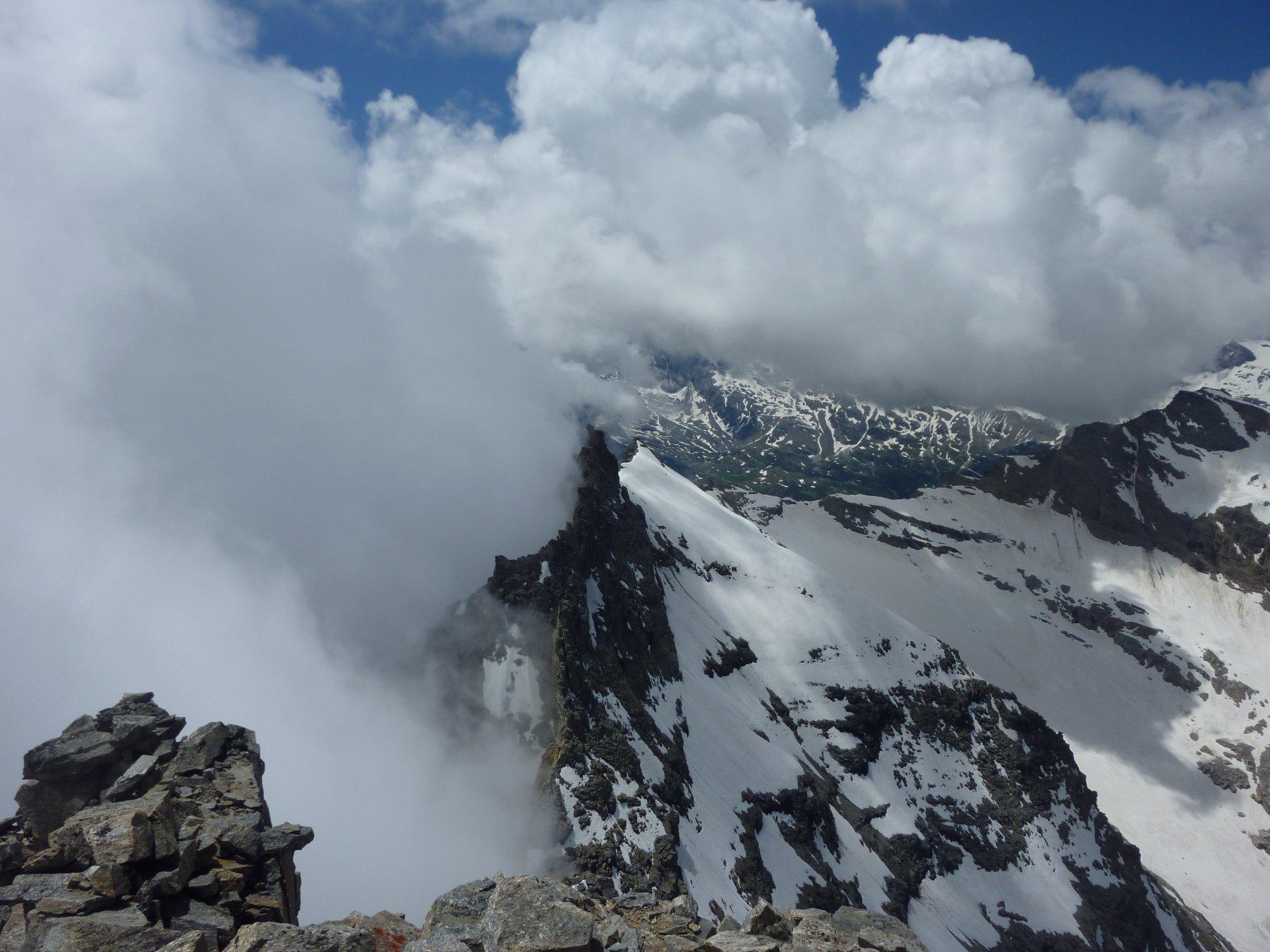 panorama dalla cima: lato opposto