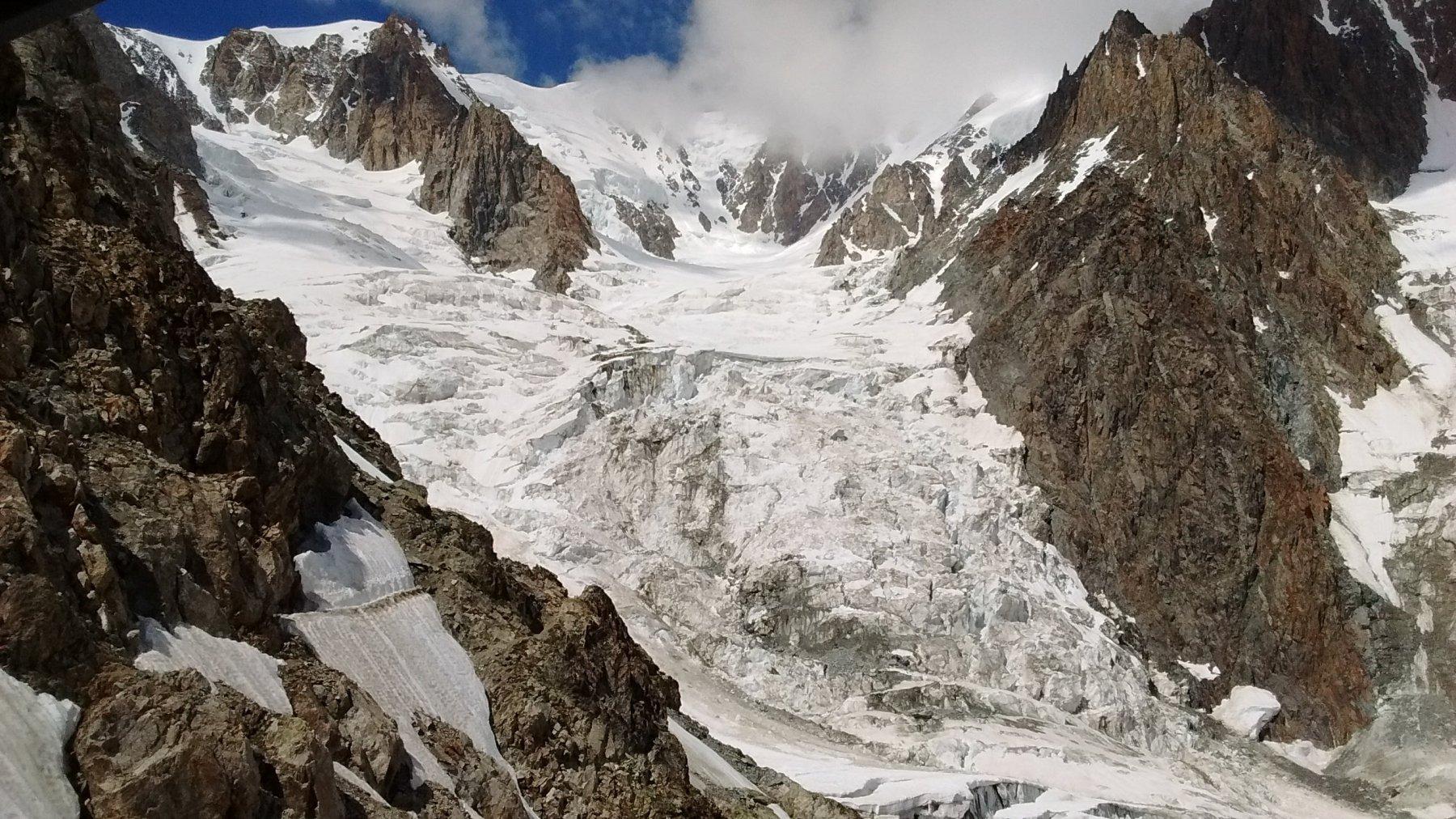 ghiacciaio del dome
