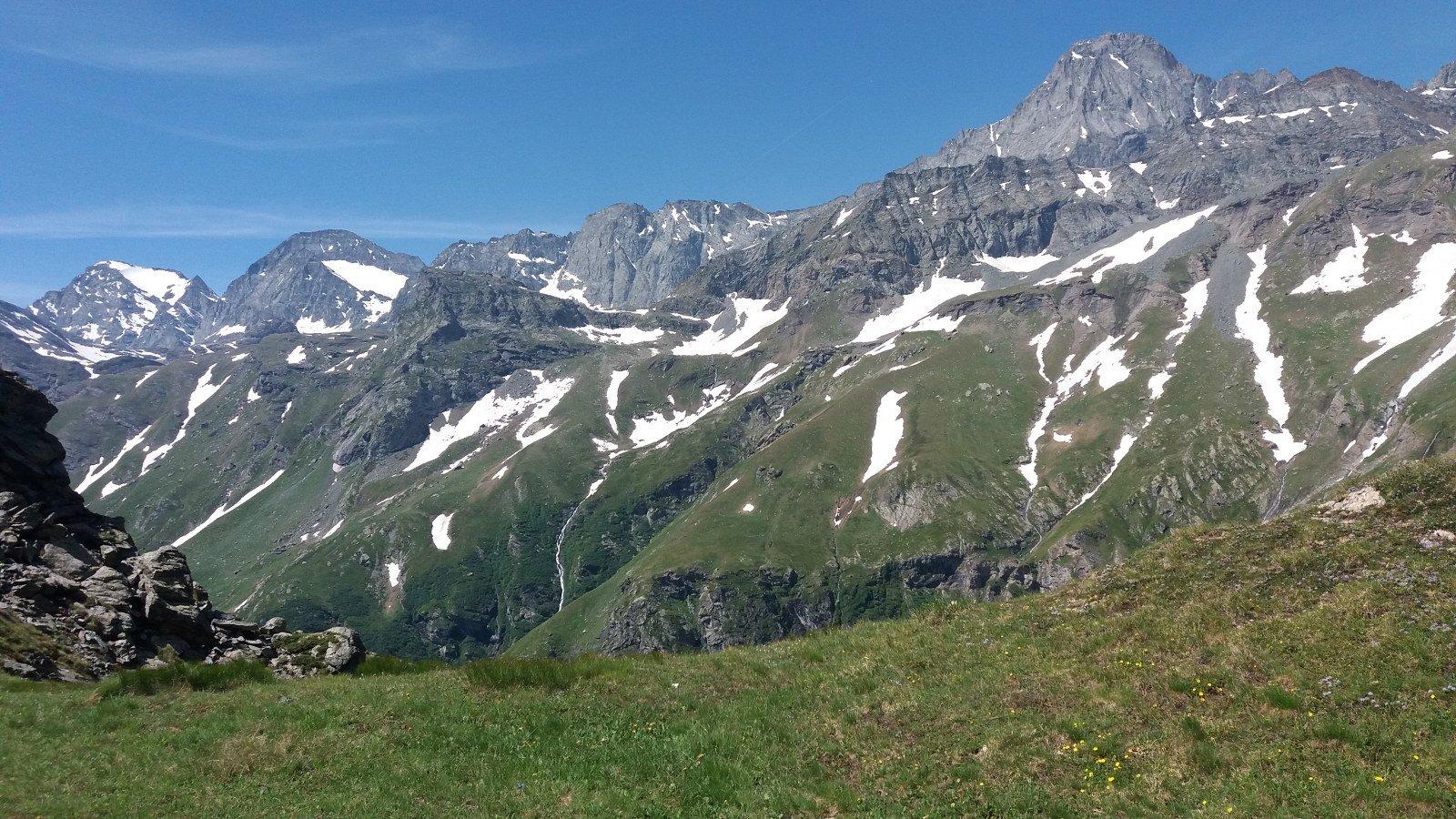 Gran panorama dal colle Battaglia