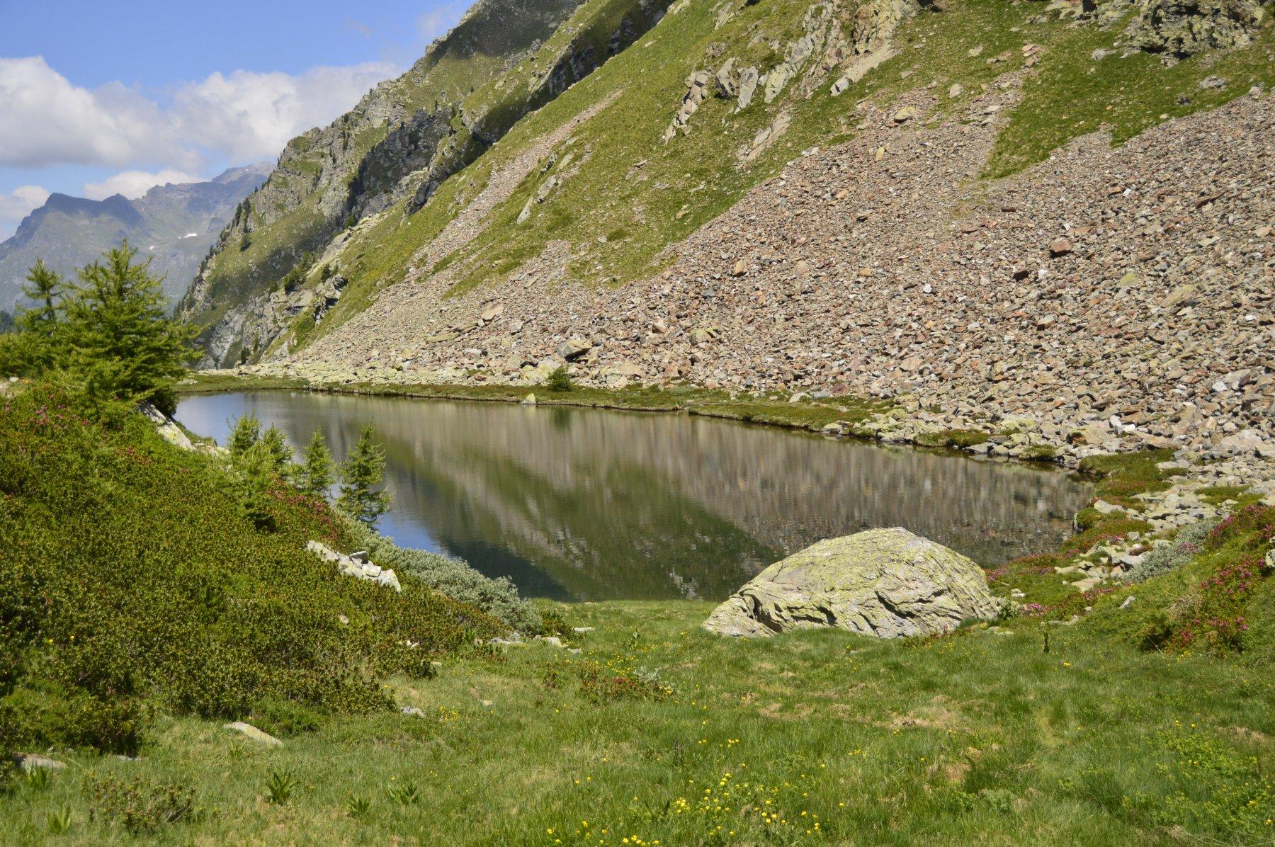 Lago sup. dal passo di Frudiere