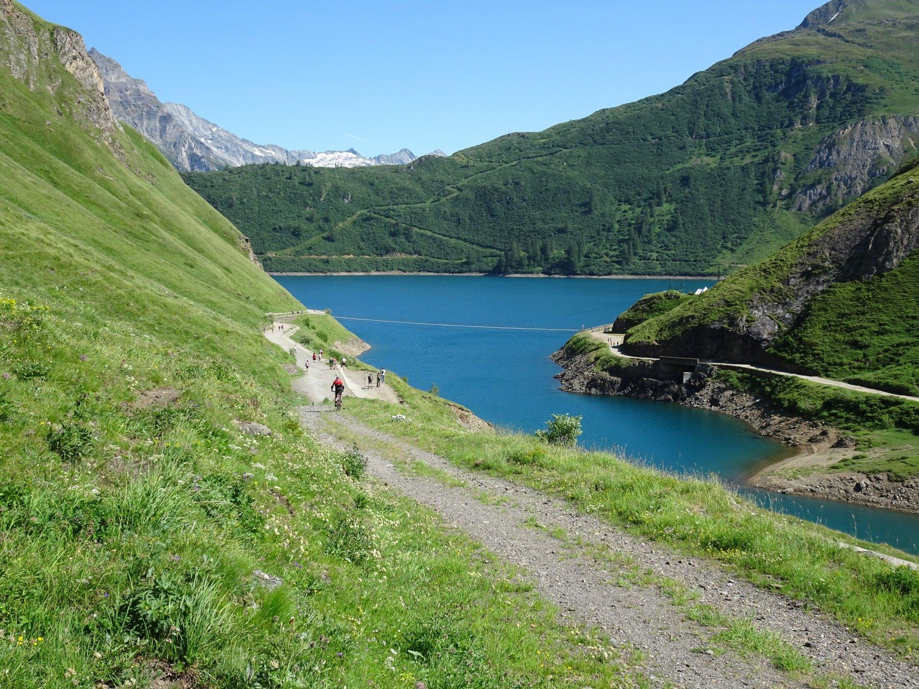 discesa lago di Morasco