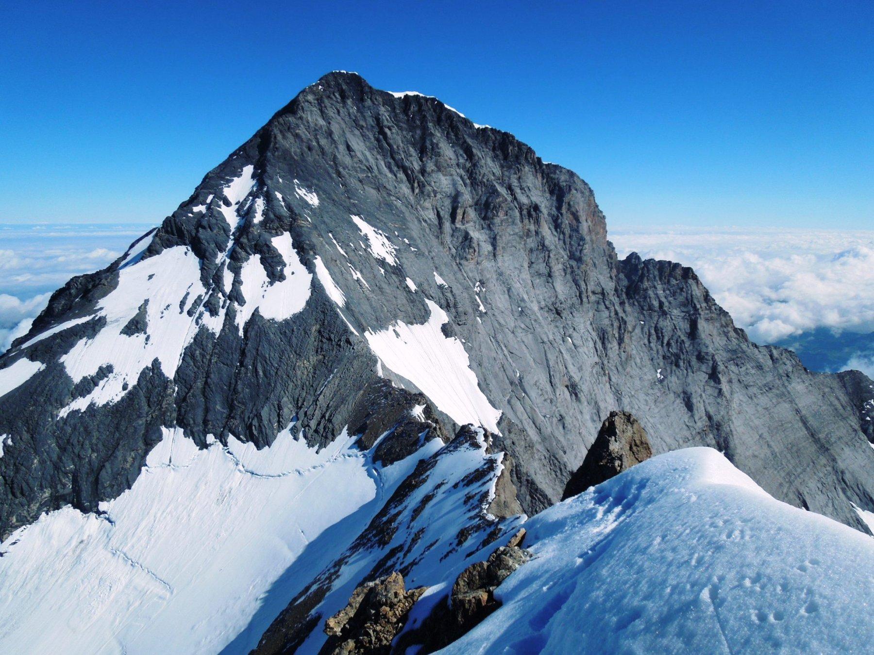 Eiger e cresta di discesa