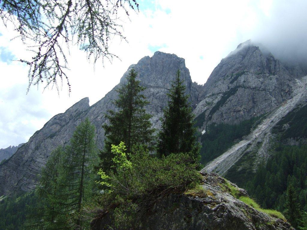 Lunelli Italo (Rifugio) dal Passo Monte Croce Comelico, traversata 2018-07-11