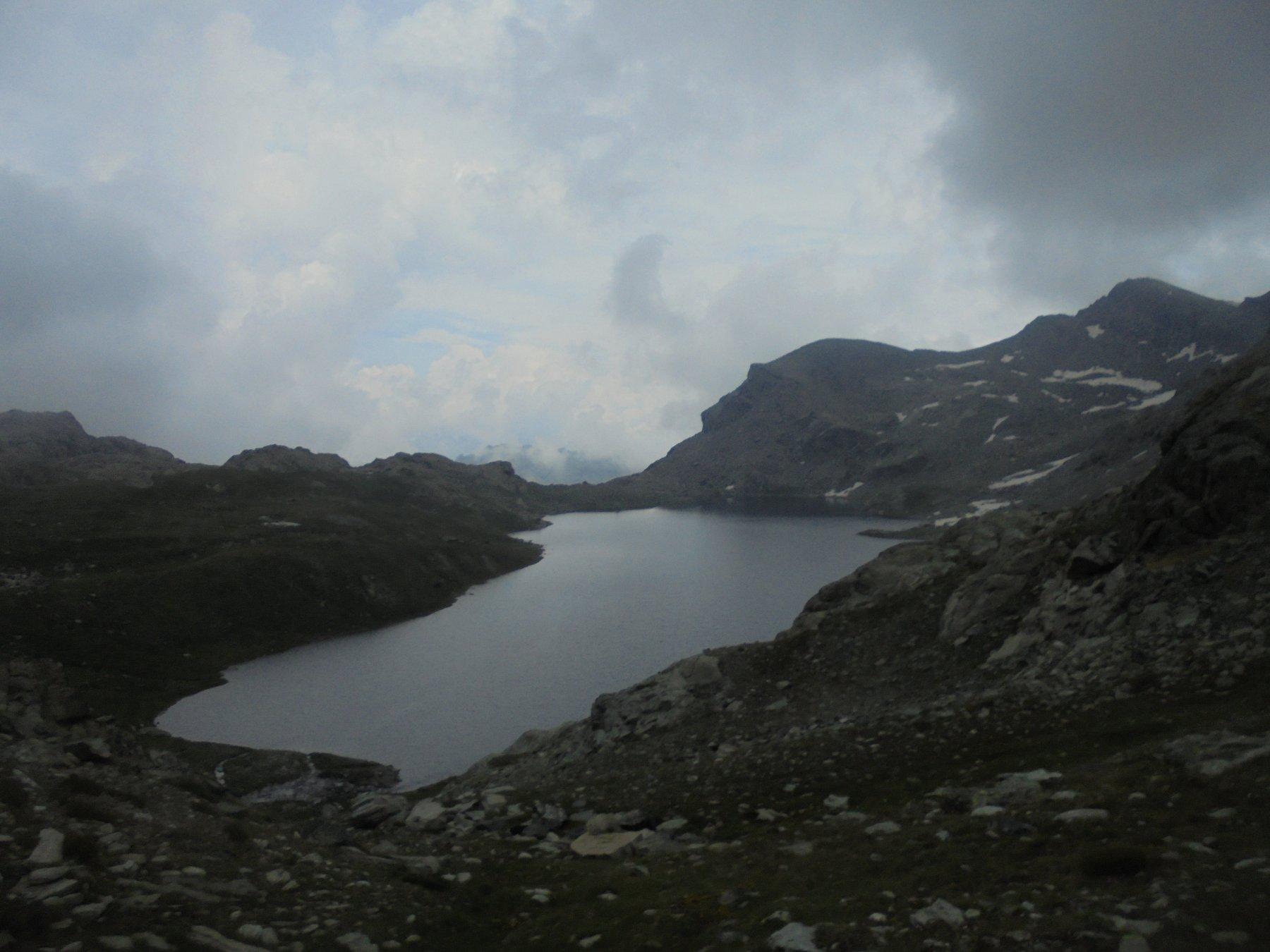 Gran Lago e Glacier a destra