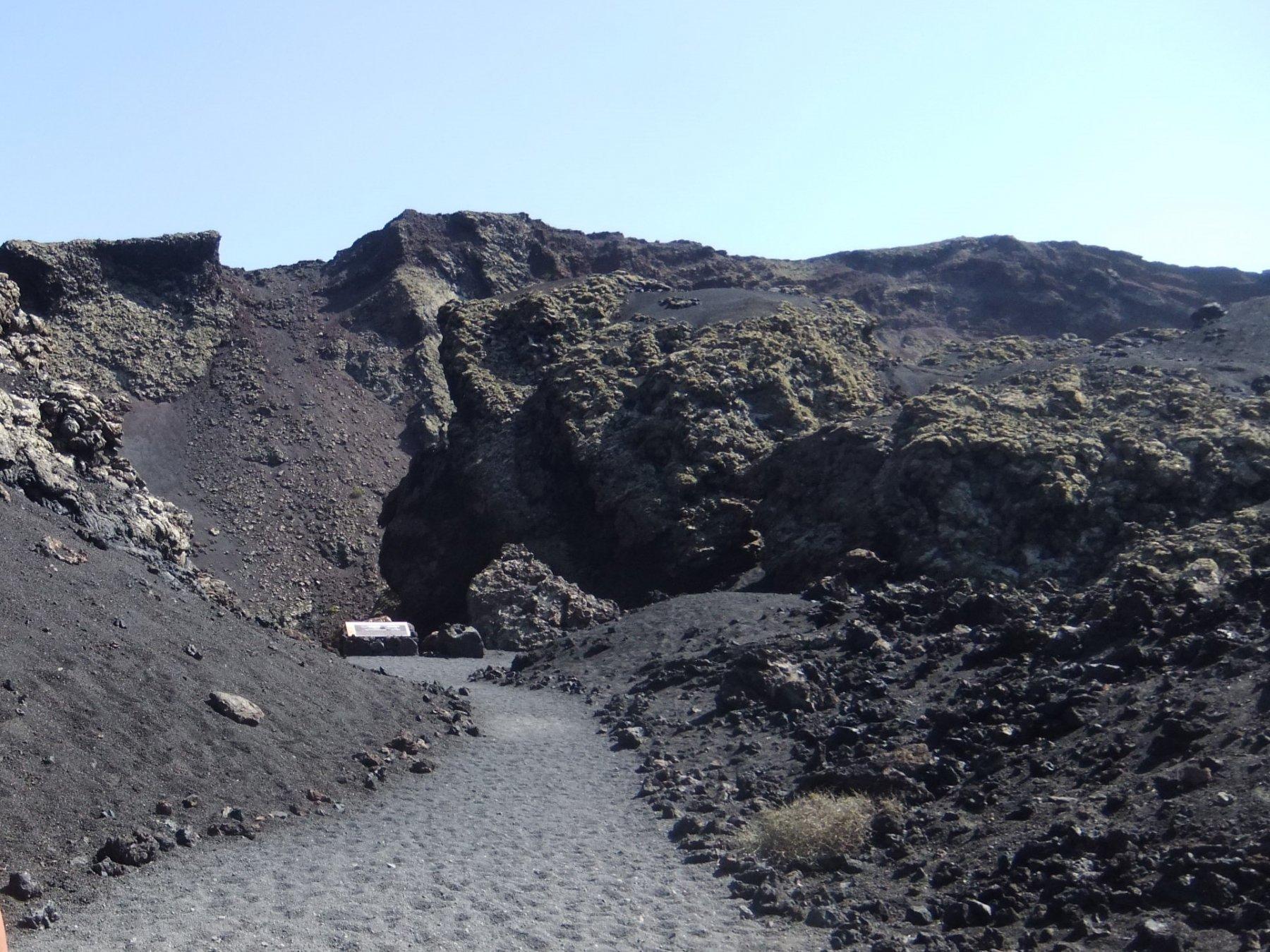 Il facile accesso al cratere