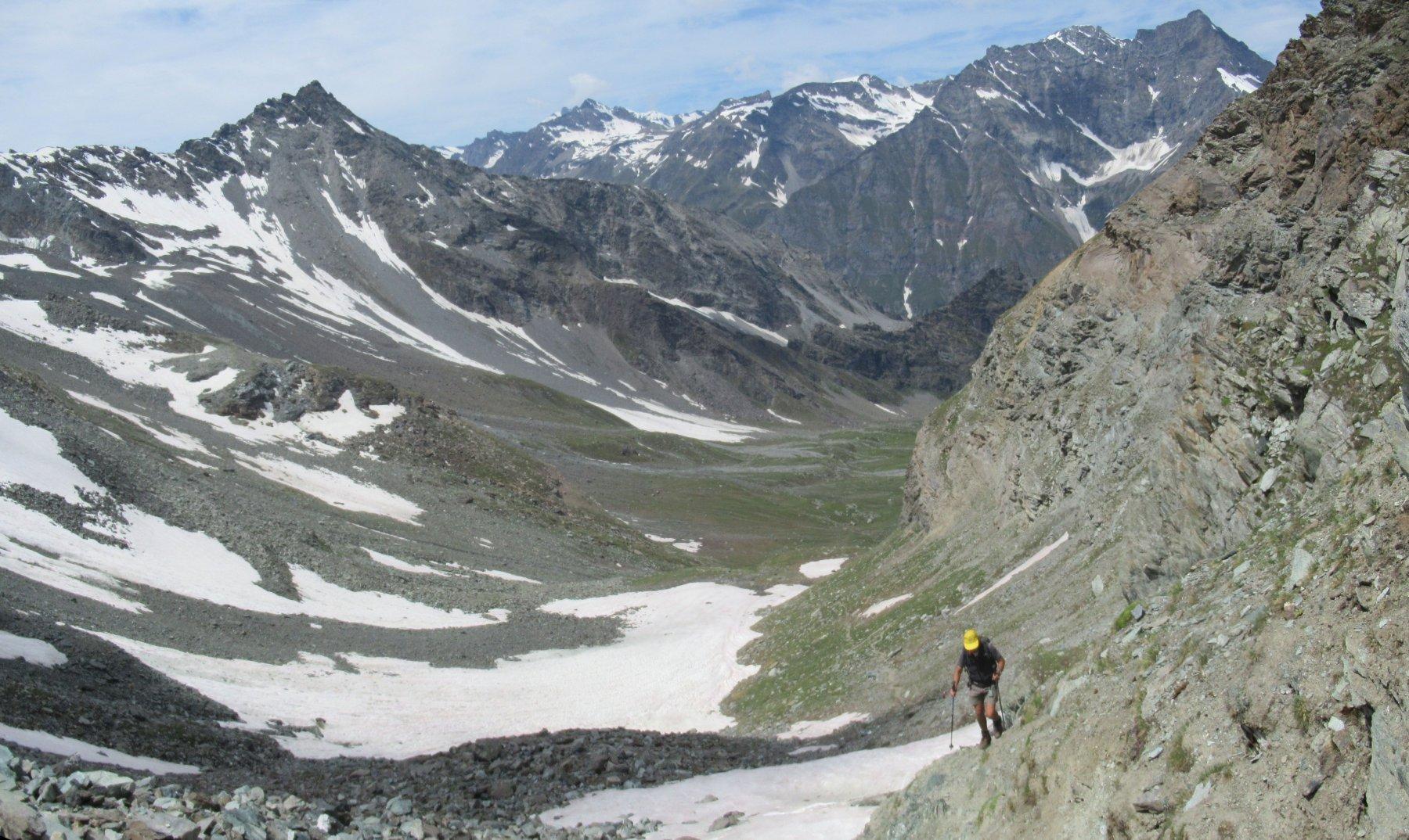 Percià (Punta) da Bruil per il Colle di Entrelor 2018-07-12