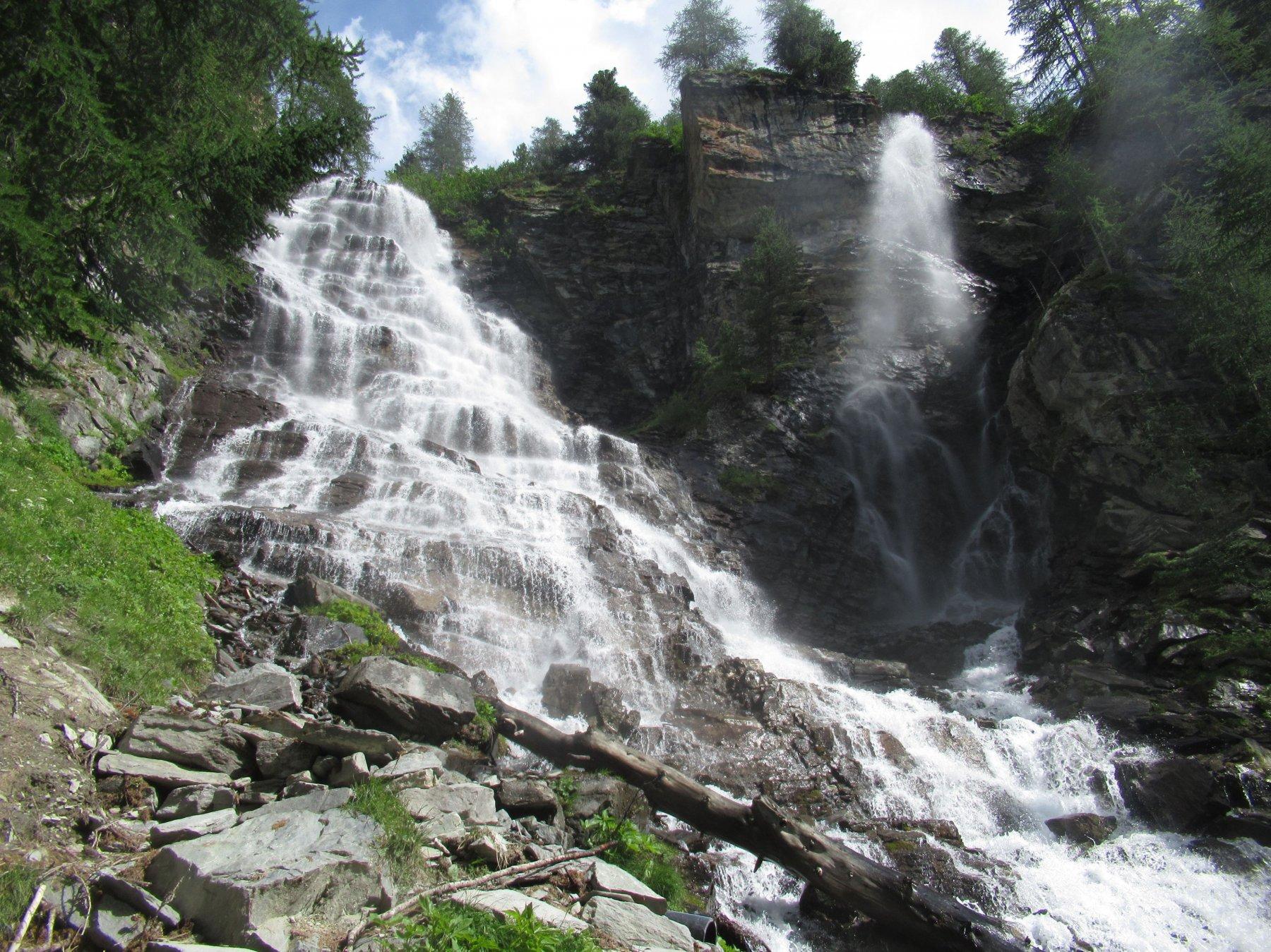 La bellissima cascata