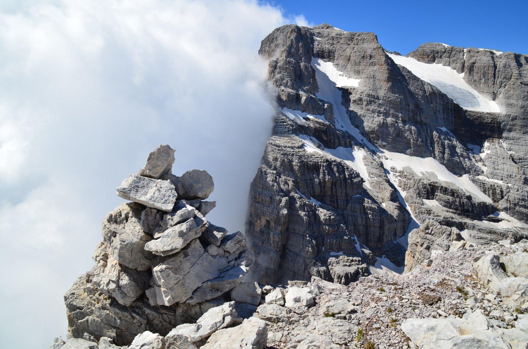 In vetta alla Rocca delle Val Perse 2907 m