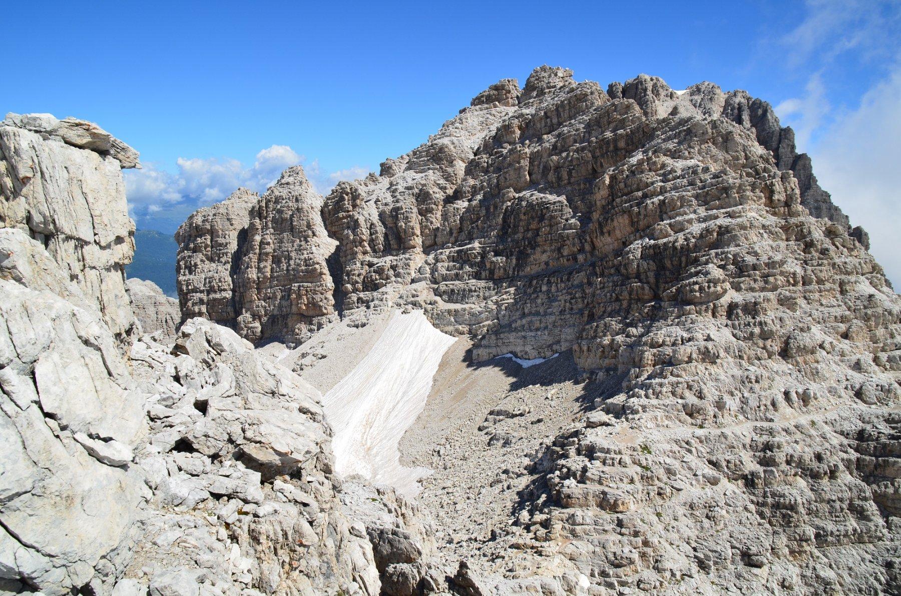 Campanile di Vallesinella dalla Rocca di Val Perse