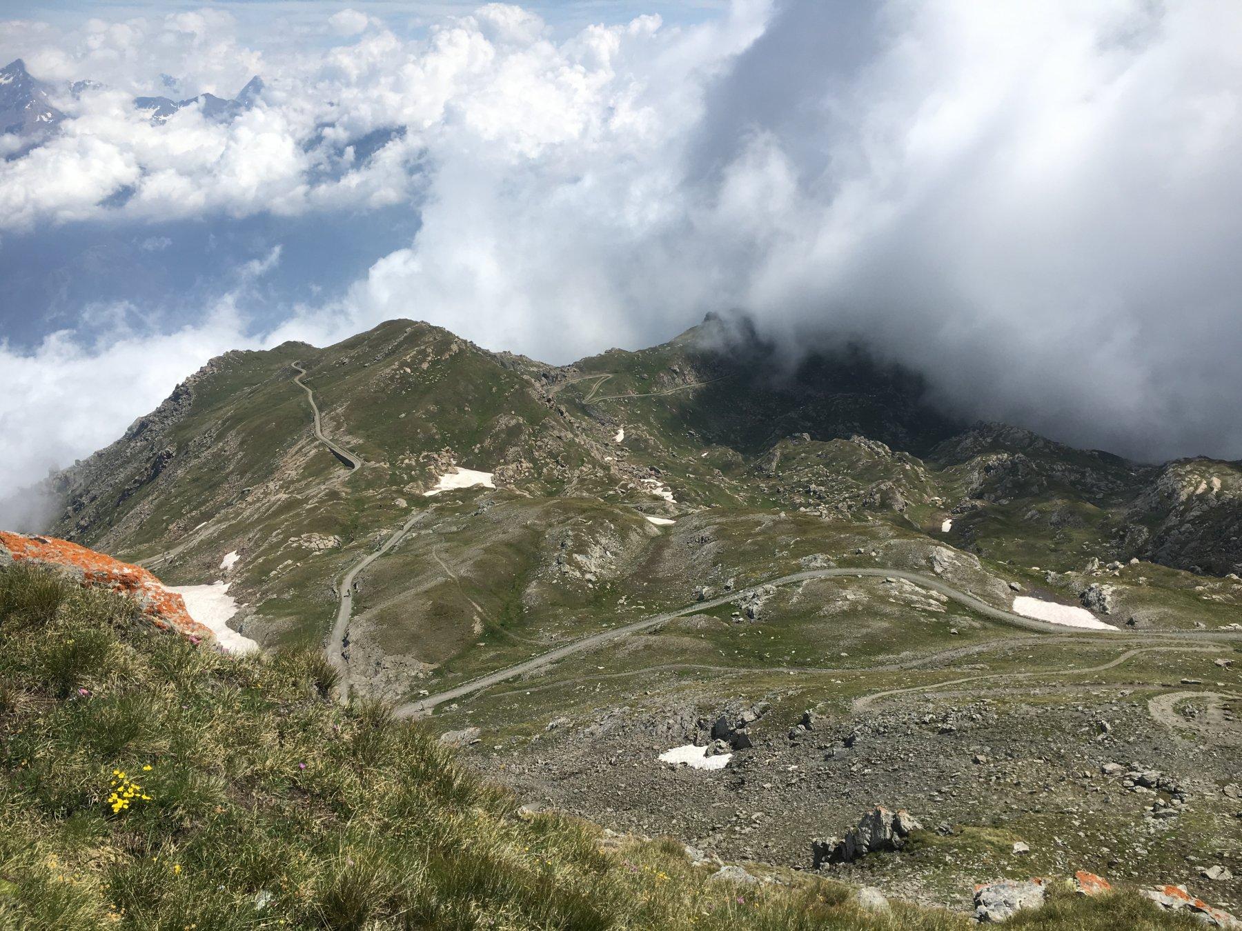 La strada dalla cima